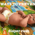 5 ways to prevent diaper rash