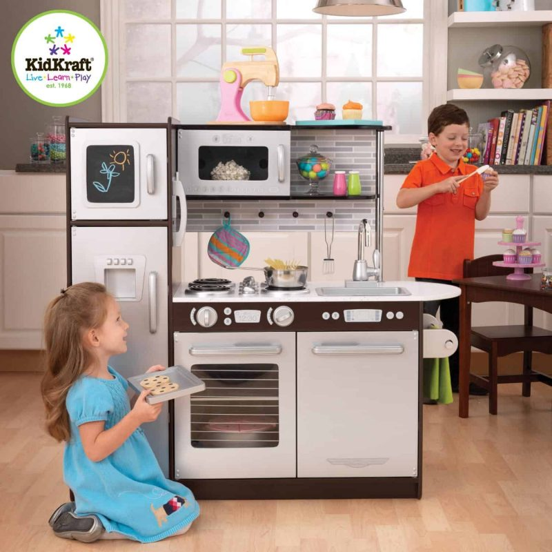 KidKraft Uptown Expresso Kitchen. I Am A Strong Believer In The Benefits Of  Imaginative Play. I Can Think Of Only Three Toys That Max Has That Make ...