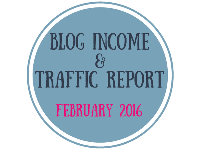 Mommy to Max - Blog Income & Traffic Report - February 2016