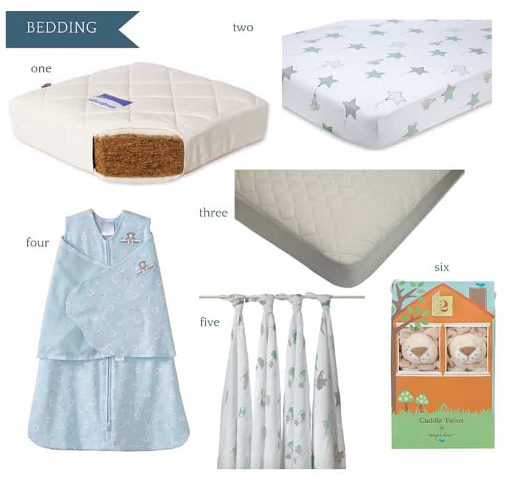 Ultimate Amazon Baby Registry Guide - Bedding