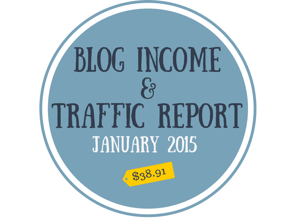 January 2015 Blog Income & Traffic Report