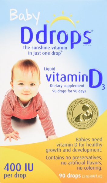 Best Vitamin D Drops For Baby Baby Ddrops Review Mommy
