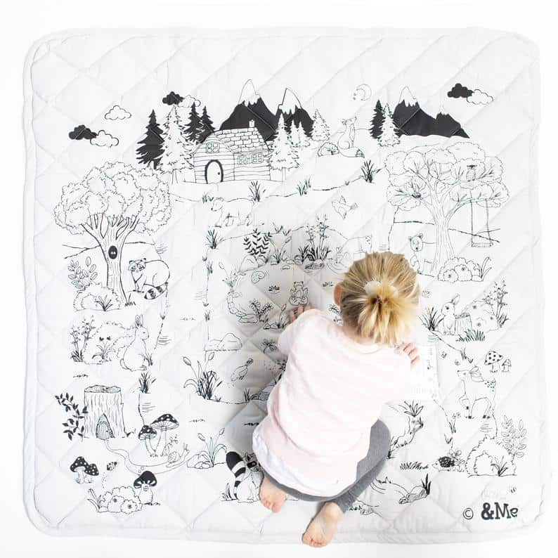 Finch and Folk play mat non-toxic review