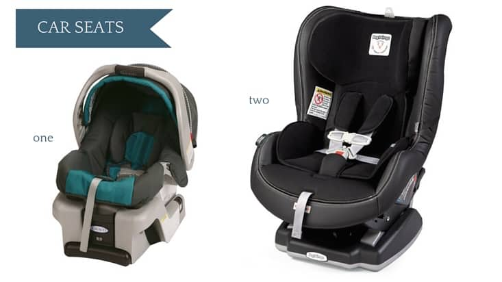 Ultimate Amazon Baby Registry Guide - Car Seats
