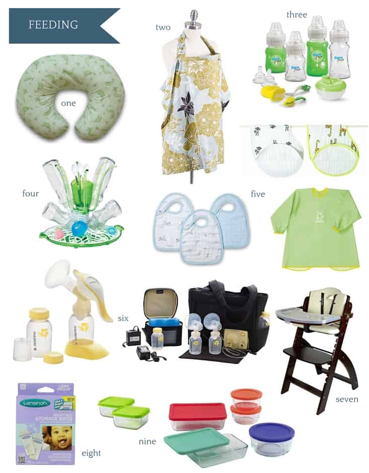 Ultimate Amazon Baby Registry Guide - Feeding