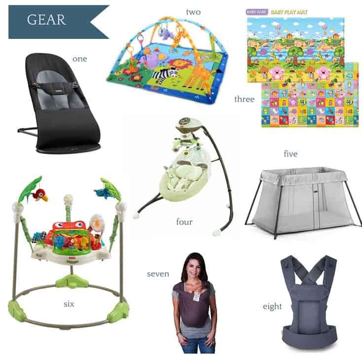 Ultimate Amazon Baby Registry Guide - Gear