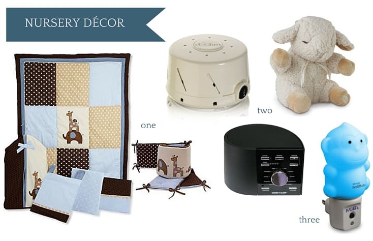 Ultimate Amazon Baby Registry Guide - Nursery Decor