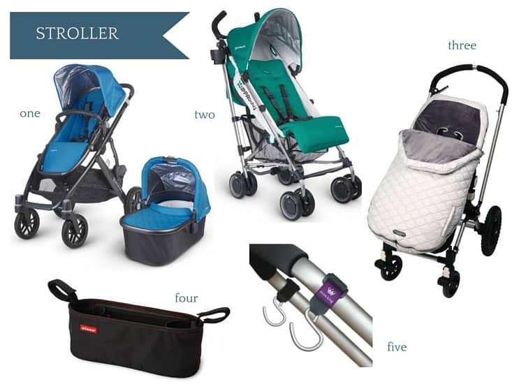 Ultimate Amazon Baby Registry Guide - Strollers