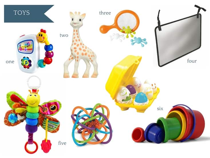 Ultimate Amazon Baby Registry Guide - Toys