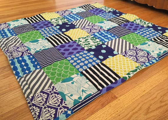 Best Non-Toxic Play Mat: Peppermint Pinwheels Quilted Play Mat ... : quilt mat - Adamdwight.com