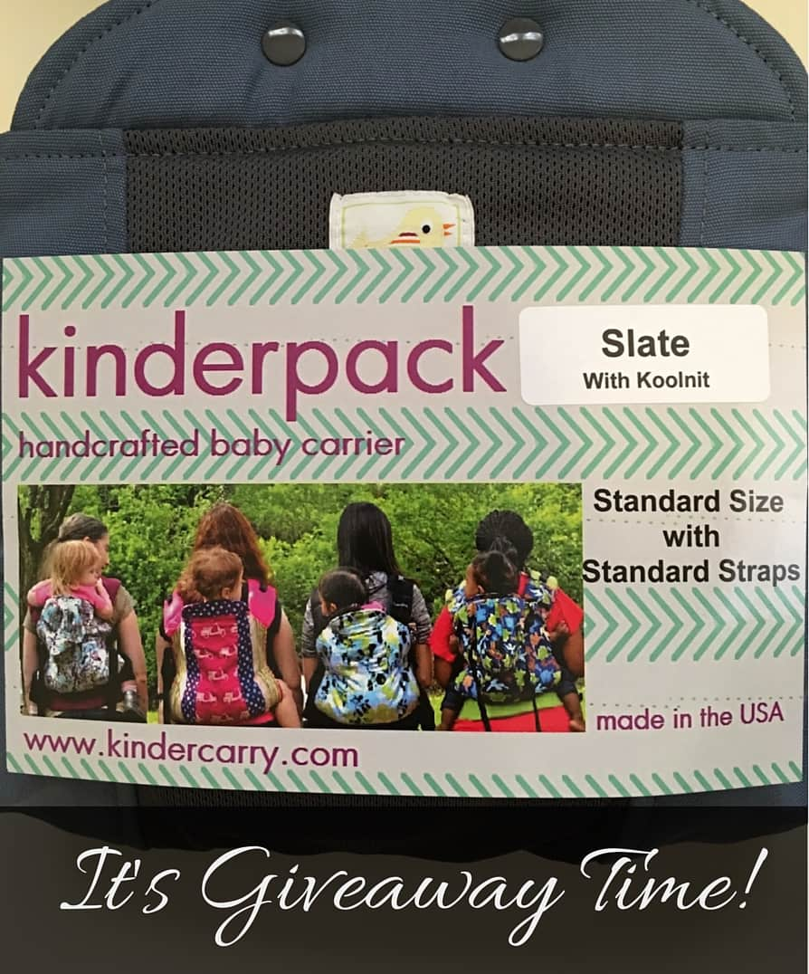 thankyou com sweepstakes thank you kinderpack carrier giveaway mommy to max 4968