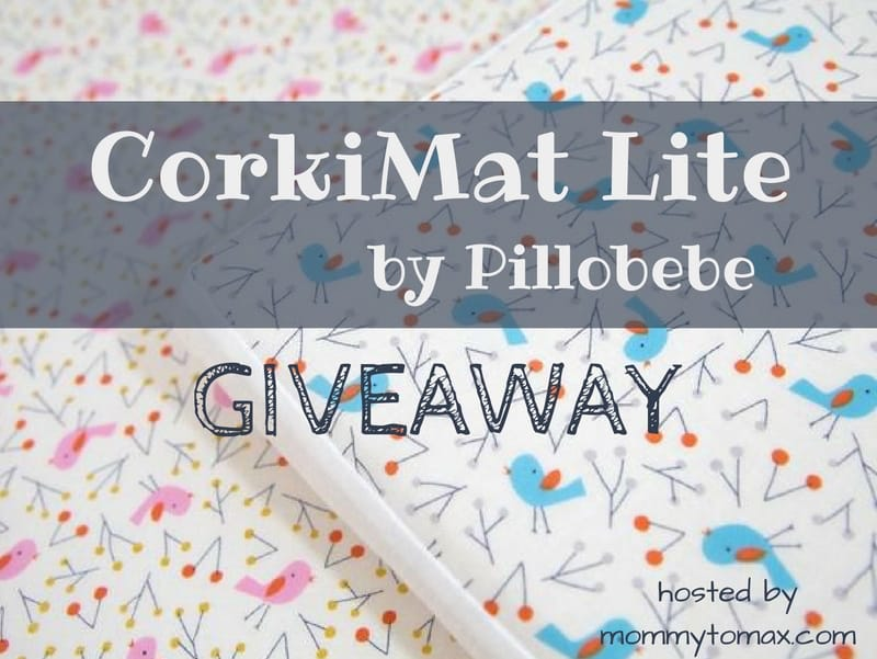 CorkiMat Lite by Pillobebe Giveaway