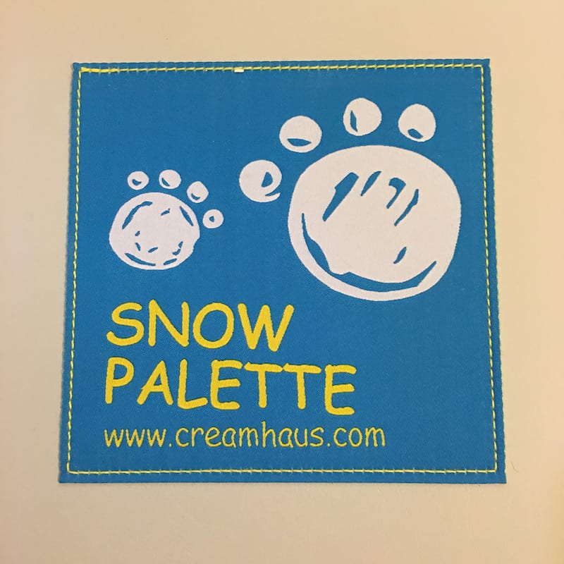 Non-Toxic Foam Play Mat Cream Haus Review - logo
