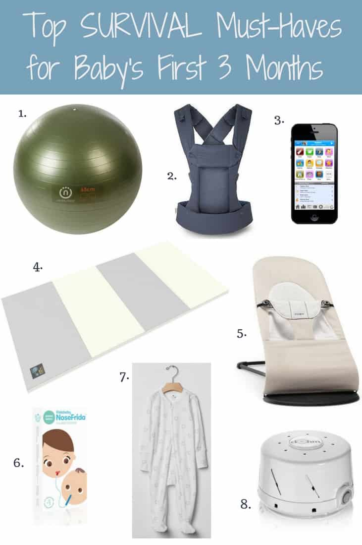 Top Survival Must-Haves for Baby's First Three Months (2)