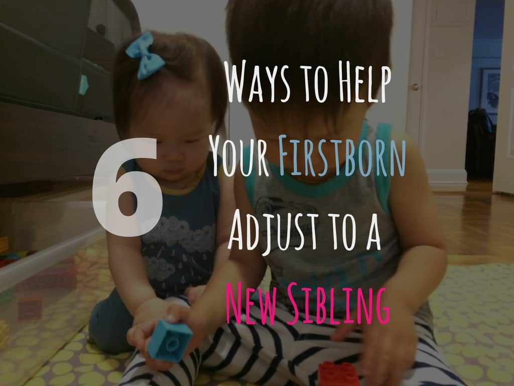 Ways to Help Your Firstborn Adjust to a New Sibling