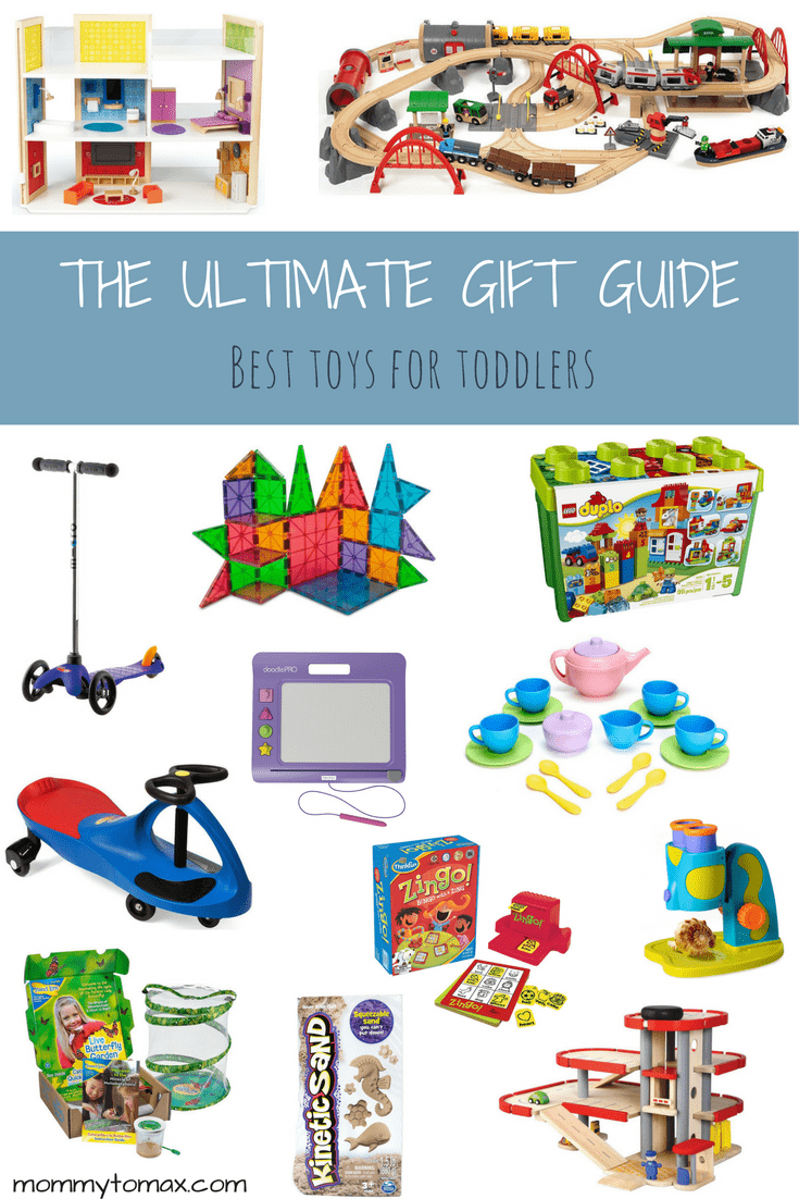 A list of the best toys for toddlers that have been mom-vetted and toddler