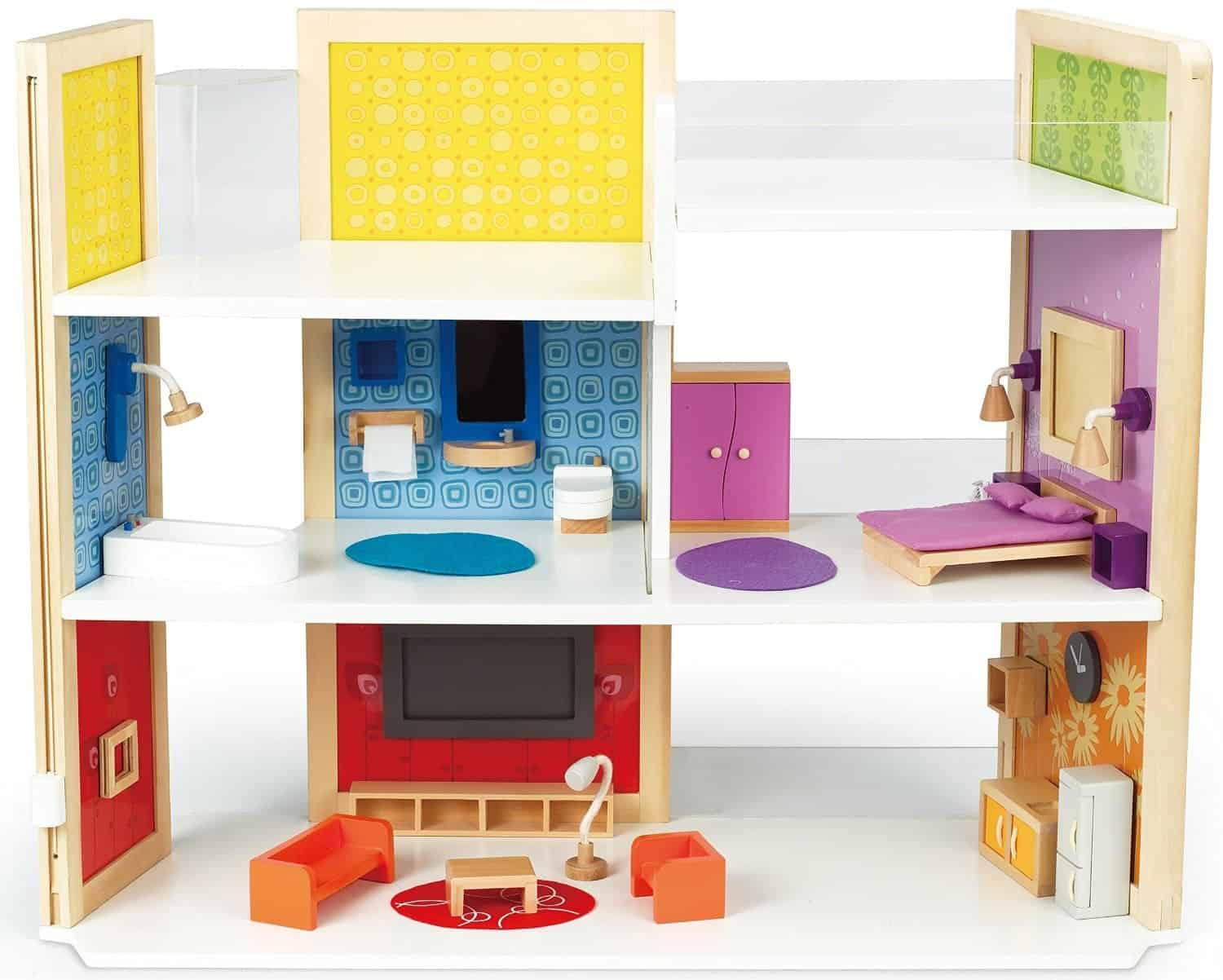 ultimate-gift-guide-best-birthday-and-holiday-gifts-and-toys-for-toddlers-2-3-years-old-hape-dollhouse