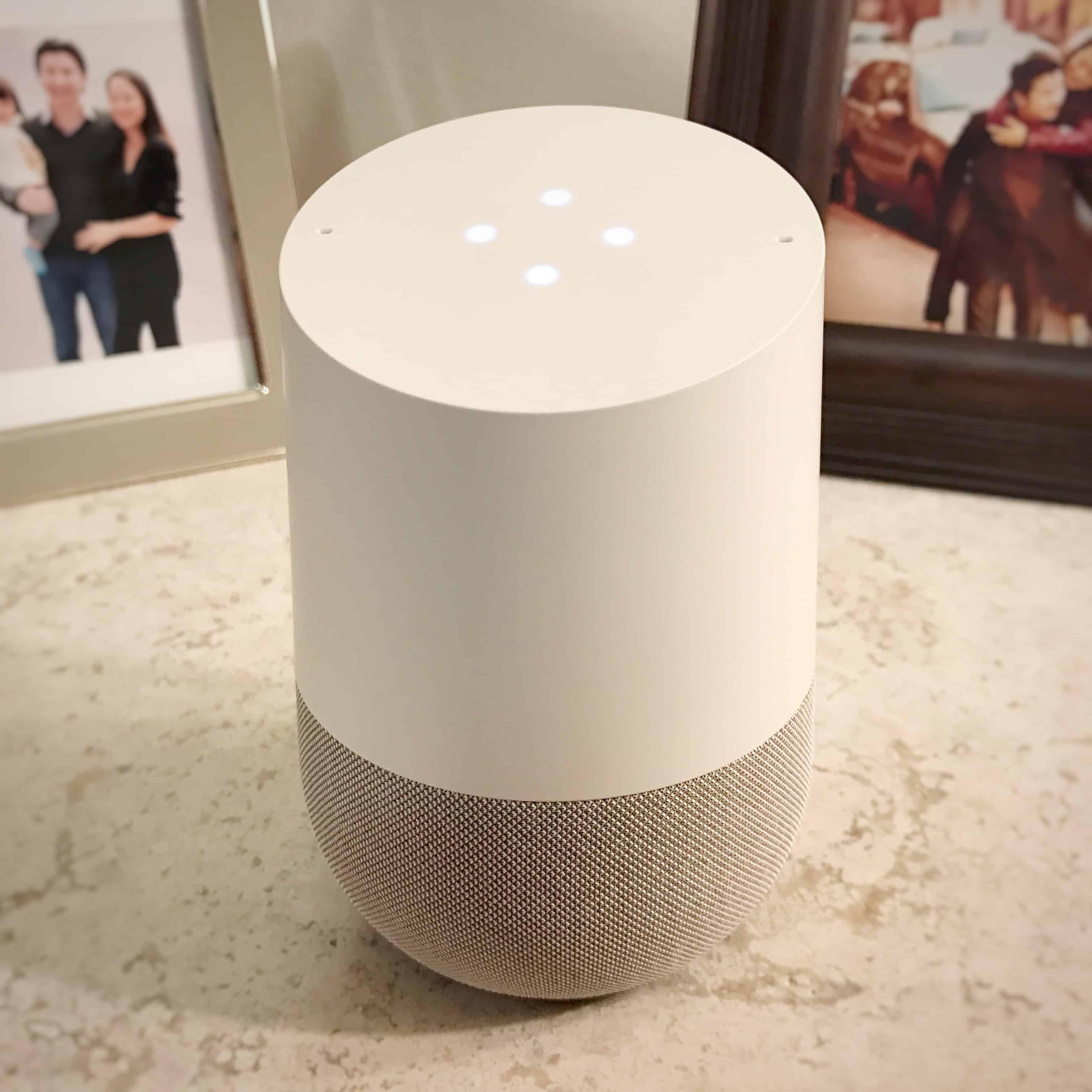 Google Home Review - Full Shot