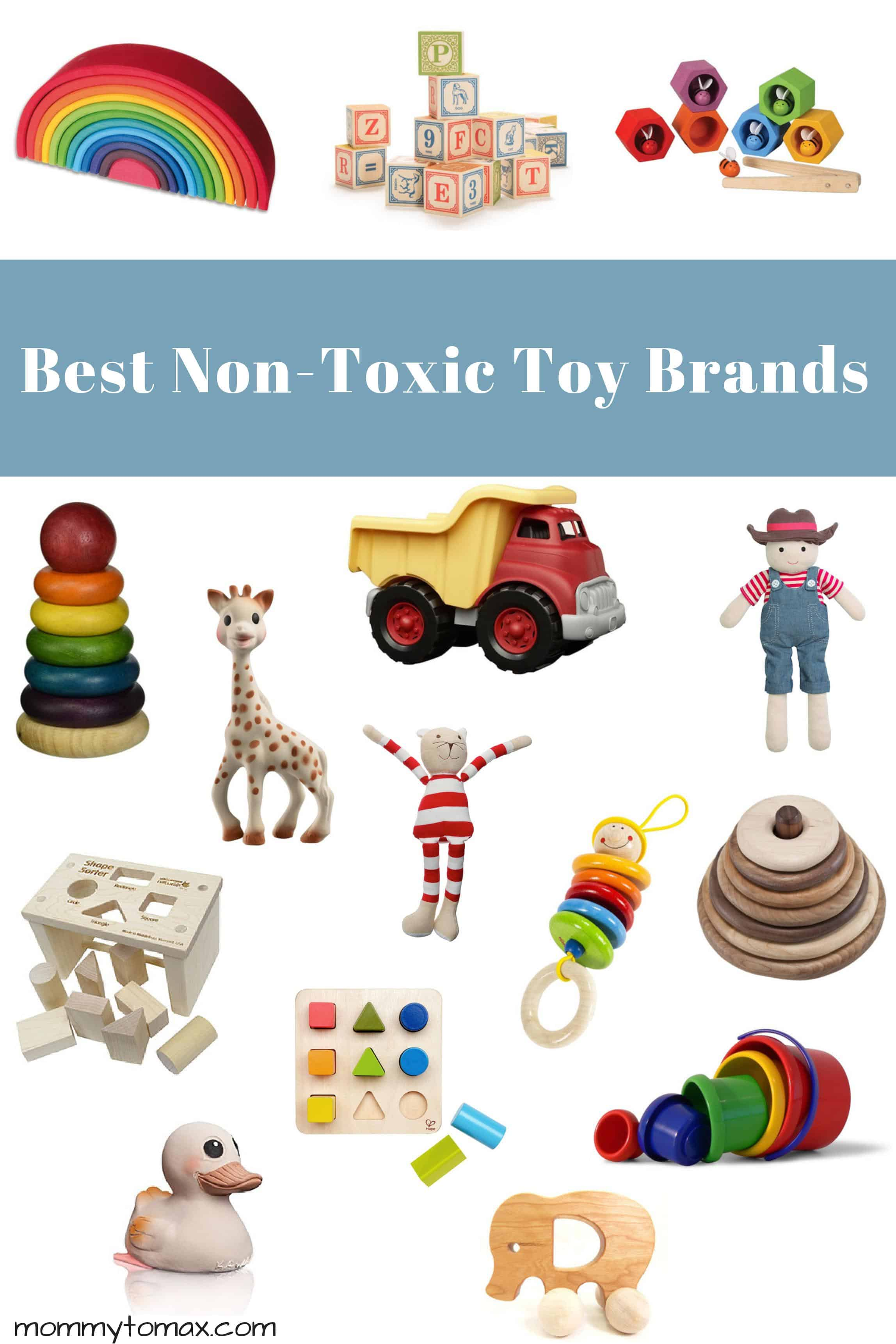 the ultimate guide to the best non-toxic toys | mommy to max