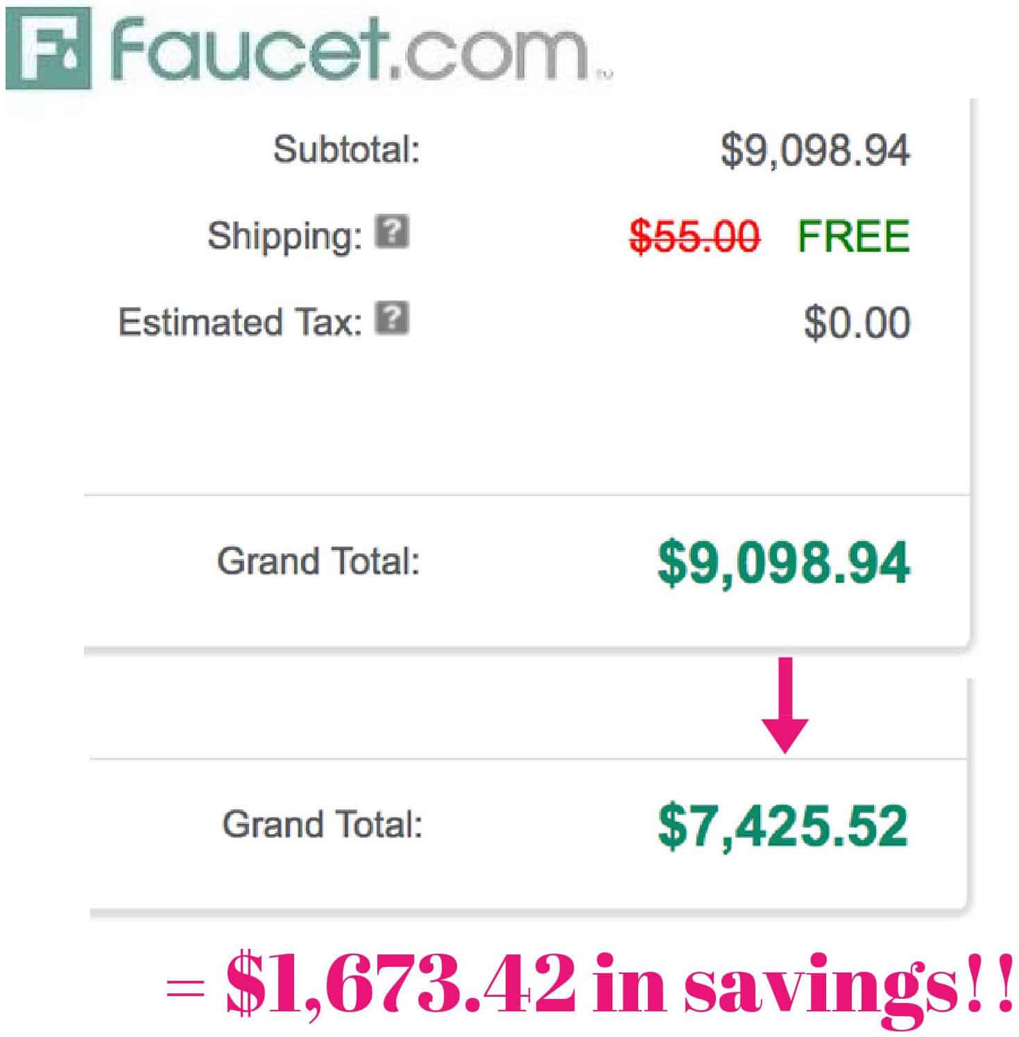 Best Place to Buy Plumbing Fixtures (and How I Saved a Ton of Money ...