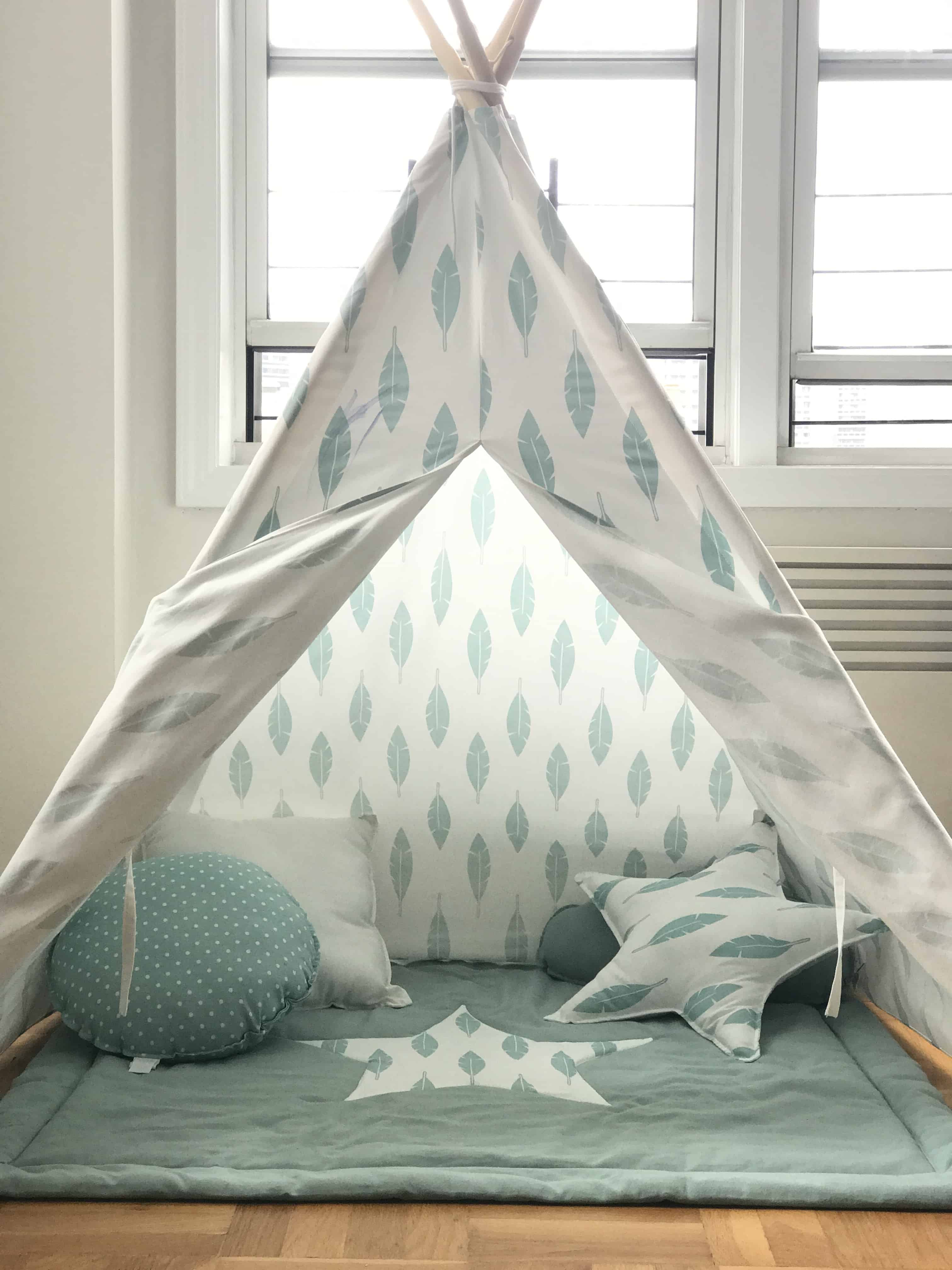 Design Kids Teepee best teepee tent for kids joy review mommy to max eagle eyes might see the marker stain on good thing its machine washable