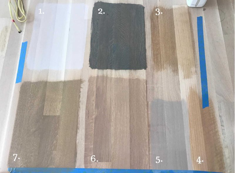 Time To Choose A Stain Color For White Oak Flooring