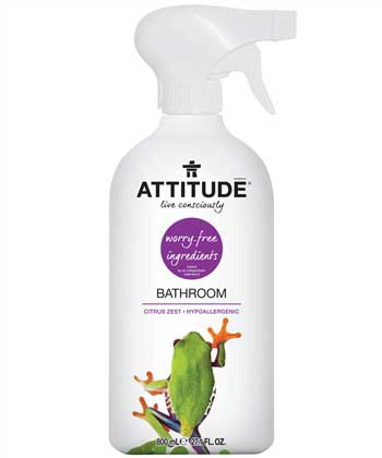 Best NonToxic Household Cleaning Products ATTITUDE Living Review - Best non toxic bathroom cleaner